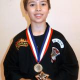 Student of the month Axel (July 2014)