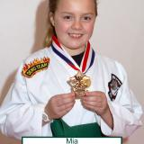 Student of the month Mia (March 2014)