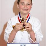 Student of the month Lewis (March 2014)