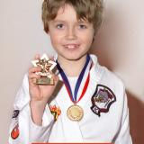 Student of the month Elliot (January 2014)