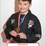 Student of the month Geovanni (April 2014)